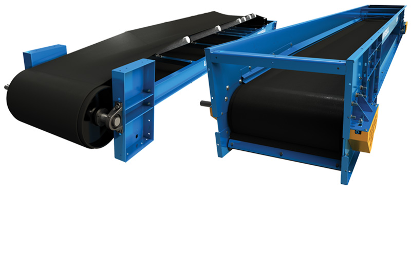 idler bed belt conveyor